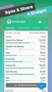 Goodbudget app