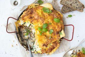 Easy Vegie and Lentil Lasagne