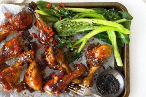 Sweet and Sticky Vegemite Chicken