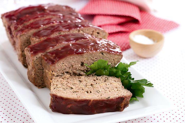 Cranberry turkey meatloaf